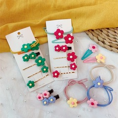 Hair ring BP-bobby pin BB pin cute hairpins lovely hair style hair band flower hairpins green