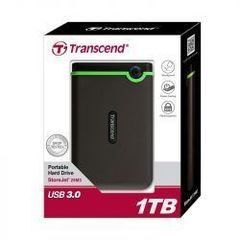 TRANSCEND 1TB EXTERNAL HARD DISK BLACK & GREEN NORMAL