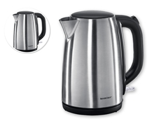 SILVERCREST Water Kettle Stainless 1.7Ltrs SILVER