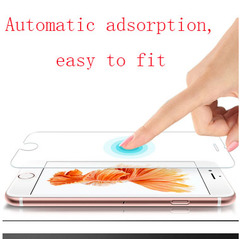 HD non-full screen scratch-resistant HD blast, for iphone phones, iphon5 / 6/7 / 8plus iphone5/5s/5e HD non-full screen (bare film)