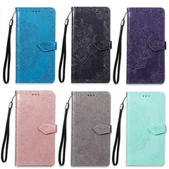 Suitable for Samsung A40 mobile phone case Multi-function flip cover multi-card Samsung rose gold 18.0*8.0*1.5cm