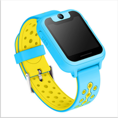 Children's smart watch children's phone watch HD large color touch screen full screen watch blue ABS material
