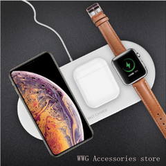 3-in-1 wireless charger for Apple Watch Headset Mobile Phone Wireless Charger black 21.0 cm * 11.6 cm * 3.2 cm