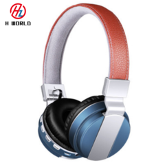 Bluetooth Headset Wireless Headphone Megabass Bt008 Foldable Quality Sounds Over-ear Stereo Headsets Blue
