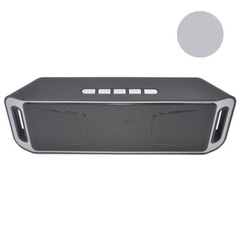 208 Wireless portable bluetooth speaker high quality cheap price speakers grey