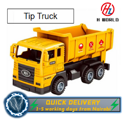 HW Construction Vehicles Truck Toys,Mini Engineer Diecast Pull Back Cars,for Boys Toddlers Birthday tip truck one size