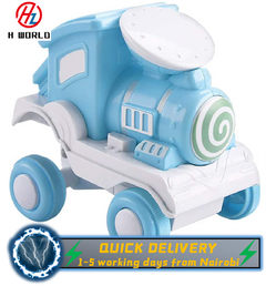 HW Pull Back Vehicles Toy Cars 360 Degree Rotating Off-Road Vehicle Toy Pull Back Car for Boys Girls blue one size