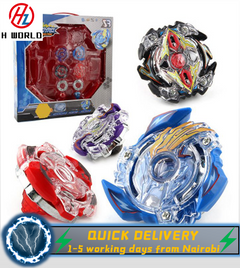 HW Spinning Beyblade Launcher Gyro Arena Fighting Battle Game Stadium Increase kids' creativity Toys one one