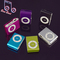 B&B NEW Big Portable MP3 Mini Clip MP3 Player waterproof sport mp3 music player walkman lettore mp3 black