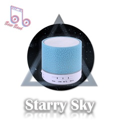 Kill Price-Portable echo Wireless Stereo HIFI Bluetooth Speaker #Bass Band blue one size