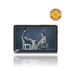 B&B 4.3-inch Ultra-clear Large Display Screen MP4 player black