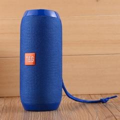 TG117 bluetooth speakers Waterproof Portable woofer Hi-Fi Loudspeaker Box Support TF FM Aux USB blue normal