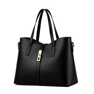 Handbags Women's Sweet fashion simple elegant high quality classic multicolor all-match shoulder bag black 10inch
