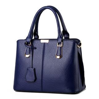 Hotsale Classical temperament elegant and refined elegant color of the new women's handbags Navy Blue Model