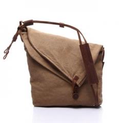 2016 Fashion Simple and generous irregular handbag stylish all-match women's cross-body bag Khaki model