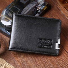 Driving license of ultra-thin LEATHER HOLSTER set of motor vehicle driver's license holder Black One Size