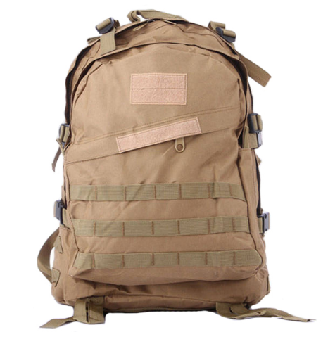Men's Out door Canvas Backpack Big capacity Military Tacti cal Backpacks Camouflage bag Travel Bag khaki camouflage one size