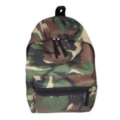 Army Mens bags Women Shoulder Bag Canvas Printing School Bags For Teenage Boys Camouflage Rucksack Camouflage one size