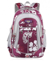 New School Bags for Girls Brand Women Backpack Cheap Shoulder Bag Fashion purple big one size