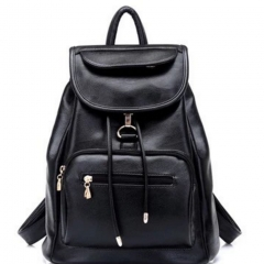 men women fashion school bags travel laptop bag boy backpack black one size
