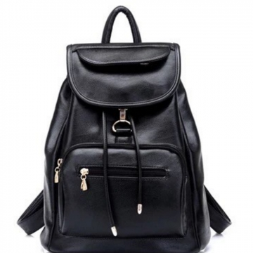 men women fashion school bags travel laptop bag boy backpack black one size