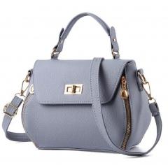 women handbag shoulder bag fashion ladies bags Gray one size