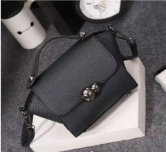 New Lady Women Handbag Shoulder Bags Tote Purse Satchel Wome black one size