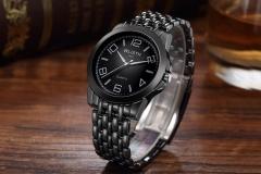 Men Watch New TOP WLISTH Brand FashionTungsten Steel Business Waterproof Quartz Watches black one size