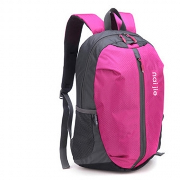 Backpack Lightweight durable large capacity waterproof men and women Travel Bag red one size