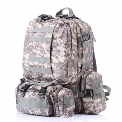 Rucksack Tactical Outdoor Mountain Backpack Molle Tactical Bag Hiking Camping Camouflage Bags acu one size