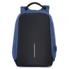 Men Business Backpack USB Design 16 Inch Laptop Bag Women Backpack Smart Anti-Thief Backpack Bags blue one size