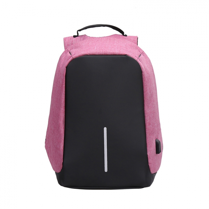 Men Business Backpack USB Design 16 Inch Laptop Bag Women Backpack Smart Anti-Thief Backpack Bags purple one size