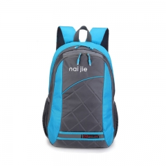 Backpack  New lightweight durable large capacity waterproof men and women Travel Bag blue one size