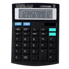 CT-777S Portable Calculator Multifunctional Solar 12-bit Display Calculator