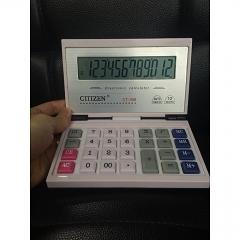 CT-358 Box Calculator Flip Solar Dual Power 12-bit Display Calculator
