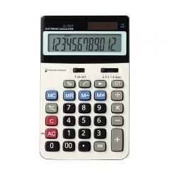 JS-20LA Calculator Button Battery Arithmetic Calculator 12-bit Display Calculator