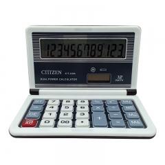 CT-229 Flip Calculator Mini Calculator with Battery Solar Dual Power 12-bit Display Calculator
