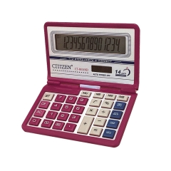 CT-8814ND Solar Dual Power Color Flip Calculator 14-bit Display Calculator