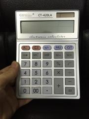 CT-420LA 12 Digit Solar Arithmetic Calculator Fashion Calculator Financial Accounting