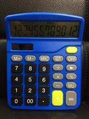 CT-M28 Blue Portable Multifunctional Calculator 12-bit Display Financial Accounting Calculator