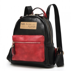 Multi-function Backpack For Women Retro Travel Bags School College Bag Casual black one size