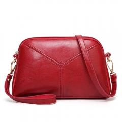 Ladie's Mini Bag Handbag Sling Bag Elegant PU Leather Bag red model