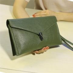 Ladie's Mini Bag Handbag Sling Bag Elegant PU Leather Bag green one size