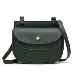 Ladie's Mini Bag Sling Bag Elegant PU Leather Bag green one size