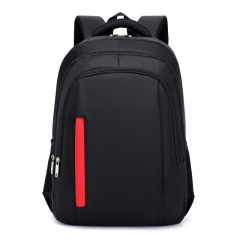 Backpack of high school students travel computer bag sports female leisure travel men's backpack black one size