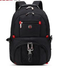 Men's Backpack Multi-functional Large-capacity Student  bags black one size