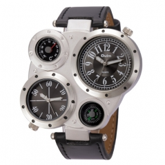 Man Watches Male Quartz-Watch Top Brand Luxury Sport Wristwatch black one size