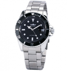 Men's Royal Classic Automatic Mechanical WatchBusiness Watch black white one size