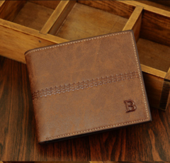 New men's Korean men's wallet retro card package-brown1 brown1 one size