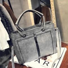 New trend handbags fashion casual handbags big bag casual shoulder bag Grey Model